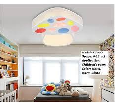 childrens ceiling lighting. Extraordinary Childrens Bedroom Light Fixtures Kids Room Ceiling Lights Modern Led Mushroom Lamp Design Fixture Children Lighting