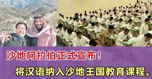 Image result for 沙特开设中文课