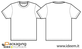Free T Shirt Template Options For And Illustrator Download Ai Blank