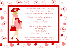 Valentines Day Invitations Impressive Valentine Baby Shower Invitations Day Mommy To Be Ba Shower