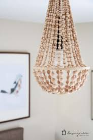Diy Bead Chandelier Diy Chandelier From Wood Beads Designer Trapped In A Lawyers Body