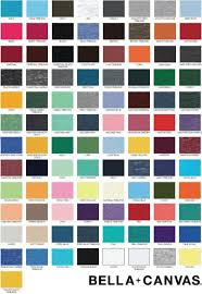 Bella Canvas T Shirt Colors Related Keywords Suggestions