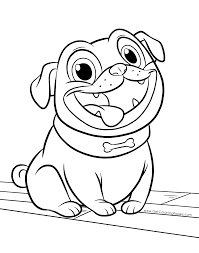 Puppy Dog Pals Coloring Pages Getcoloringpagescom