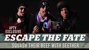 escape the fate explain their old beef with seether