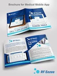 Flyer Design App Serious Professional Medical And Science Flyer Design For