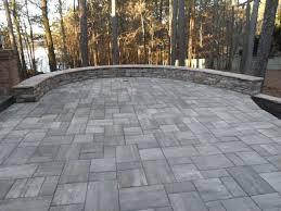 pavers backyard patio pavers design