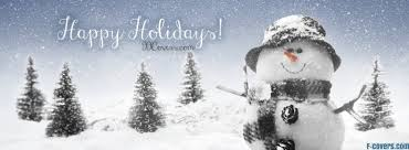 Holidays Snowman Happy Holidays Snowman Facebook Cover Timeline Photo Banner For Fb