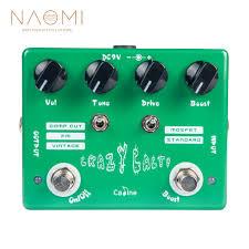 """<b>NAOMI Electric Guitar</b> Effect Pedal """"Crazy Cacti"""" Overdrive Guitar ..."""