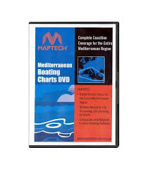 Maptech Boating Charts Dvd Mediterranean