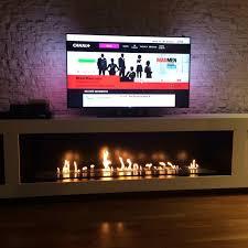 bioethanol fireplace contemporary original design traditional remote bioethanol burner tray 1500mm