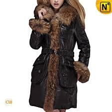 women fur trimmed coat cwmalls com
