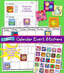 Printable Event Calendar Printable Special Event Stickers For Planners Calendars By