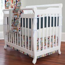 coastal mini crib bedding set