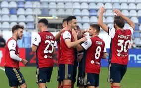 Risultati Serie A: Cagliari Udinese e Benevento Genoa in diretta live