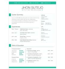 Best Modern Resume Styles Modern Resume Templates Free Download For Microsoft Word Cool
