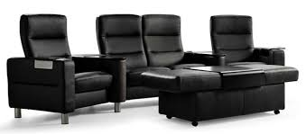 home theater furniture. stressless wave sc121 high back home theater furniture