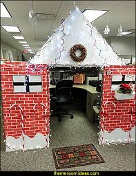christmas themes for the office. Office Cubicle Decorating Ideas - Work Desk Decorations Decoration Themes Christmas For The