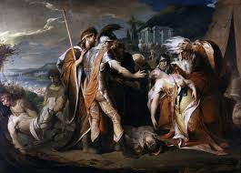 king lear themes king lear weeping over the body of cordelia