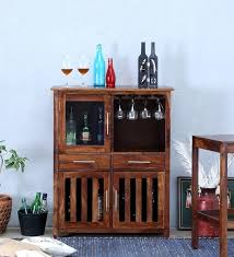contemporary bar furniture. Abbey Solid Wood Bar Cabinet In Provincial Teak Finish By Woodsworth Contemporary Furniture
