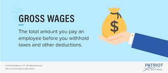 If You Get Paid Semi Monthly What Are Gross Wages Definition And Overview