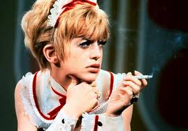 Image result for goldie hawn smoking a joint cartoon