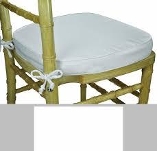 contemporary chair cushions with ties legacy series 2u0027u0027h foam chiavari chair cushion with 12u0027u0027 ties