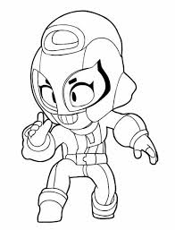 Tim brawl stars recommended for you. Max From Brawl Stars Coloring Pages Print For Free
