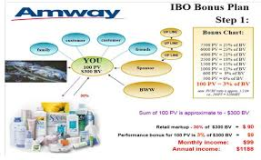 Amway Pv Bv Chart India Amway Compensation Plan Is The Grandaddy Of Network