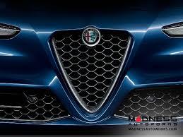 alfa romeo grill. Exellent Grill Alfa Romeo Giulia Front Grille W Carbon Fiber Insert By MOPAR  Veloce  Version  In Grill F