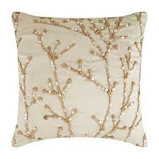 16x16 Designer Ivory Throw Pillow Case Art Silk | Etsy