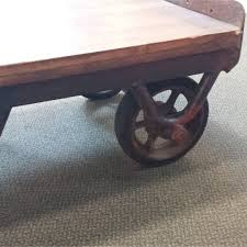 Industrial Coffee Table Cart Industrial Coffee Table 2 Old Strathcona Antique Mall
