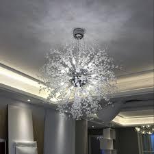 crystal beads sputnik pendant light 27