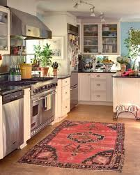 modern kitchen rugs new in cool amazing en pattern decoration including brown wooden backsplash along with granite countertop and gray ceramic tile