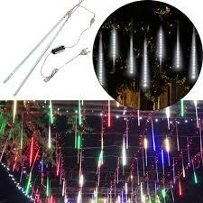 Diy Meteor Shower Lights Us 5 79 45 Off Party Diy Led Lights Meteor Shower Rain Snowfall 2pcs Christmas Tree Garden Party Outdoor Decoration Lights M1114 On Aliexpress