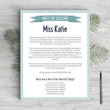 Preschool Teacher Resume Elementary Teacher Resume Template For Word Pages One Two And