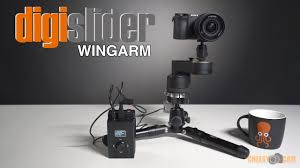 first look at the digislider motorized wing arm slider lensvid comlensvid com