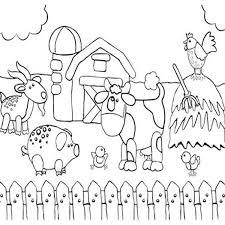 Farm Animal Drawing At Getdrawingscom Free For Personal Use Farm