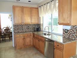 gray white kitchen makeover hexagon tile grey painted cabinets featured homemaker light