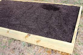 box garden. DIY Garden Box--Fill It With Dirt Box