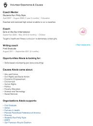 Adding Volunteer Work To Resume Sample Resume For Volunteer Work
