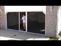 garage door screen systemIts a Breeze Garage Door Screen System  YouTube