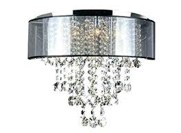 flush fitting crystal chandeliers semi mount chandelier chrome ceiling home improvement amazing chand glamorous lights