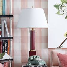 spacious ballard designs lamp shades in miles redd column table