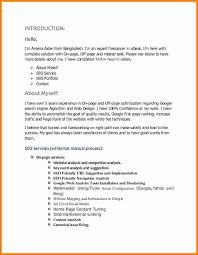 Website Proposal Letter 50 Best Photos Seo Sample Proposal Proposal Example