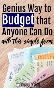 Printable Budgeting Sheets Zero Based Budgeting Forms Make Budgeting So Much Easier