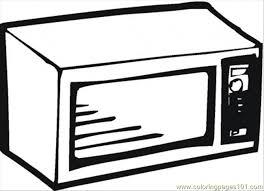 microwave clipart. fridge microwave clipart