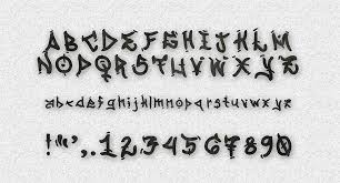 free graffiti fonts dope font styles