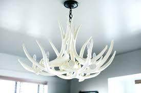 curtain endearing faux deer antler chandelier 14 chandeliers white elk regarding ideas outstanding faux deer antler