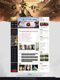 The Millennium Game Site Source Legend World Asp God Way Legend Site Source Template Official Website With The Background