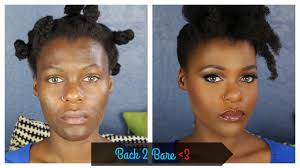 back to bare minerals flawless makeup look acne e hyperpigmented dark skin you
